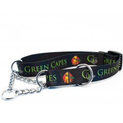 Green Capes Martingale Collar